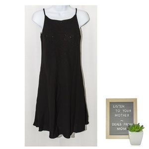 Fit & Flare Cocktail Dress Rhinestones Party 6P